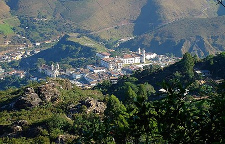 Vista Panoramica de Ouro Preto