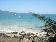 Linda praia catarinense