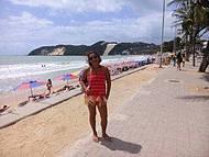 Praia urbana mais popular de Natal