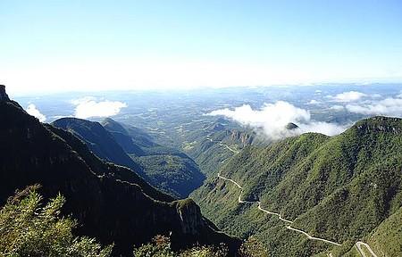Vista da Serra do Rio do rastro