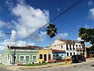 Primeira capital do estado de Alagoas.