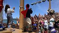 Dançando com o Capitão Jack e seu Grande Bucanero
