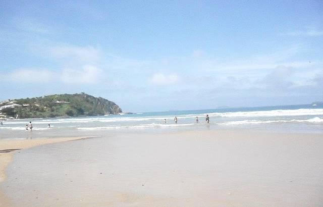 Manh� em Praia de Gerib�