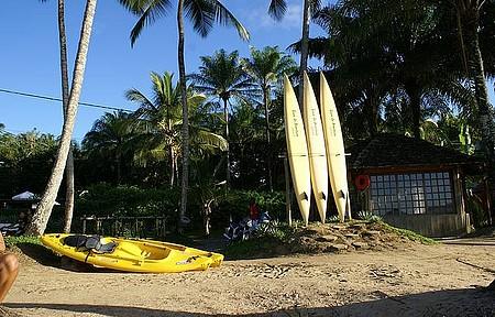 Caiaque e canoagem - Passeios podem ser feitas no mar e  nos rios