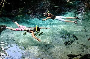 Flutuação no Aquário Encantado