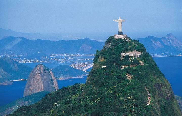 O monumento foi eleito uma das Sete Novas Maravilhas do Mundo