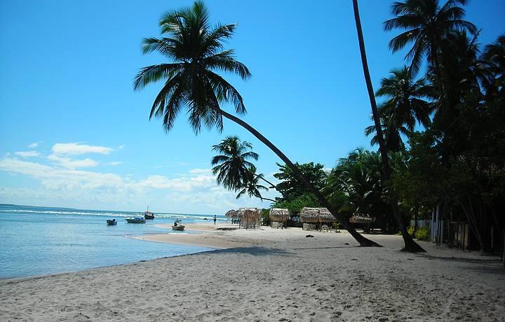 Praia de Morerê...faça essa caminha de Boipeba a morerê, vale a pena!