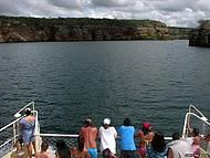 Passeio de catamarã pelo Rio São Francisco