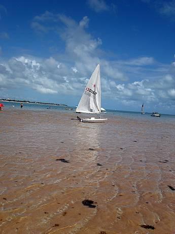 Areia Vermelha. Que paraíso!