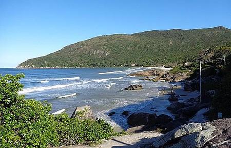 Armação - Bela vista praia do Sul da Ilha