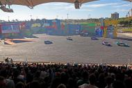 Arena Hot Wheels comporta 3 mil pessoas