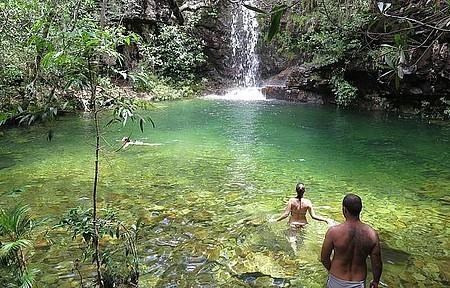 Curtir as cachoeiras - Natureza