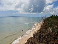 Vista do alto. Essa praia é maravilhosa!