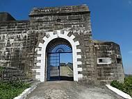 Entrada principal do Forte do Pico