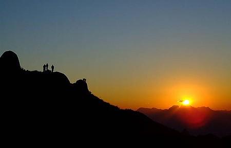 Curtir Itaipava - Por do sol também faz parte dos espetáculos