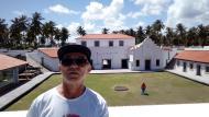 Navegando na história no Forte de Inácio de Loyola