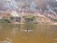 Banho de rio no Gunga