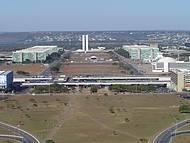 Vista da Esplanada do Ministérios