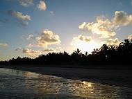 Por do sol na praia do Toque: poesia pura.
