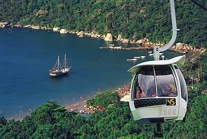 Parque Unipraias: Passeio descortina bonitas paisagens do balneário -