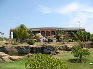 Jardim no Palácio Araguaia