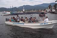 Passeios Pelas Bélissimas Praias de Bertioga com a Embarcação Lipe Bia