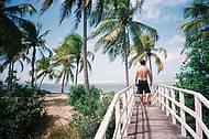 Chegando na praia de São Miguel