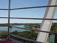 Vista da Lagoa da Pampulha no alto da Roda Gigante
