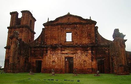 Ruínas da Missão de São Miguel - Uma aula de história.