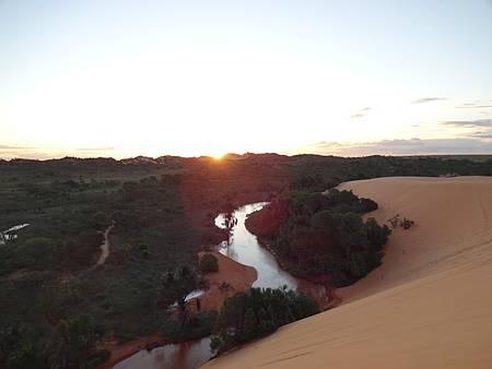 Parque Estadual do Jalapão - Pôr do sol nas dunas