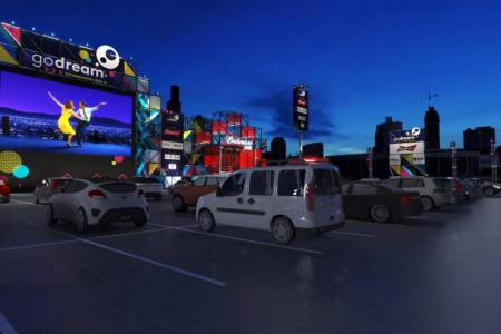 Drive-ins animam quatro capitais brasileiras - Filmes, shows e outras atrações são vistos de dentro do carro