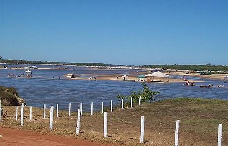 Rio Araguaia -Go - Praia no rio Araguaia