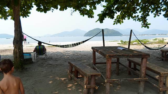 Praia da Barra Seca Mar calmo