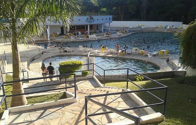 Algumas piscinas do Hotel CTC