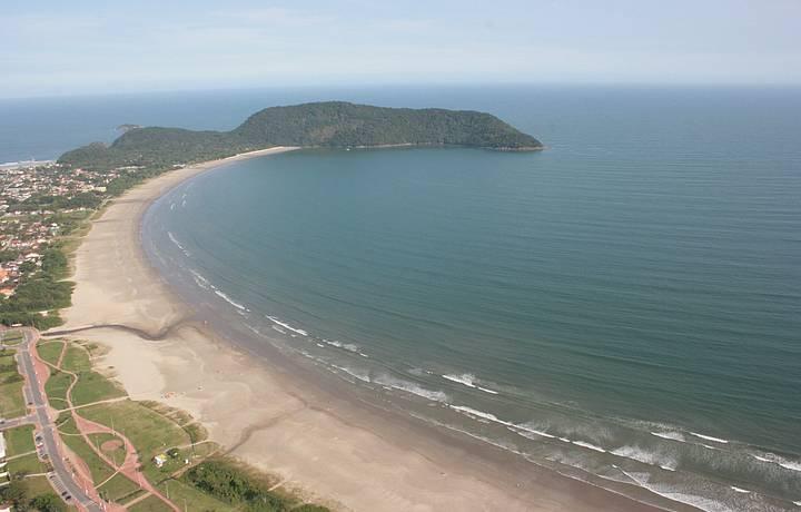 Resultado de imagem para praia do indaia bertioga sp