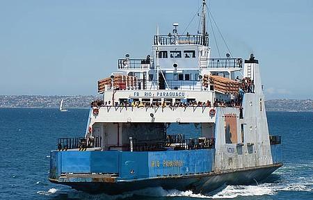 Como Chegar - Ferry Boat  travessia para ilha