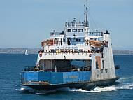 Ferry Boat  travessia para ilha