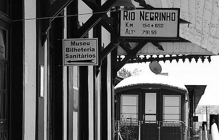 Estação de Trem - Uma volta ao passado, em Rio Negrinho, SC !  Imperdível...!