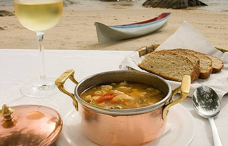 Bisque (Sopa de Frutos do Mar)
