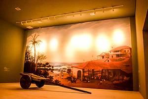 Museu da Cachaça: Imagens e peças, como o carro de boi, ontam história da branquinha -
