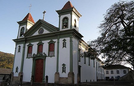 Matriz de Santo Antônio - No interior está uma das obras-primas de Mestre Athayde