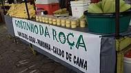 Delicioso Milho Cozido, Pamonha, Curau e Caldo de Cana