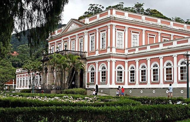 O belíssimo Museu Imperial