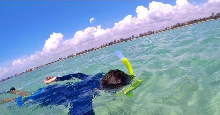 Roteiro inclui mergulho com  snorkel
