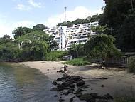 Vista da praia