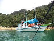 Chegando à Ilha