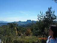 Vista para o Morro do Báu