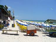 Início do dia na Praia do Francês