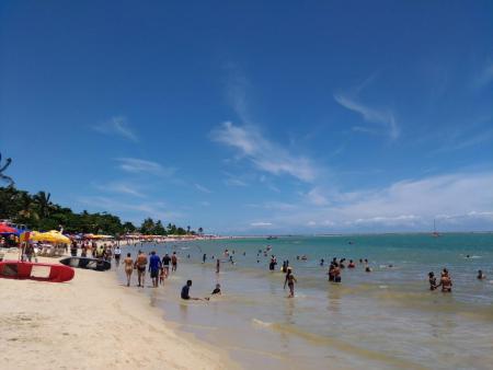 Praia tranquila com ótimos preços