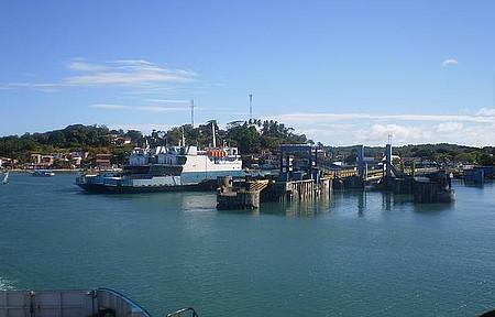 Via Ferry Boat - Para chegar do outro lado de Salvador
